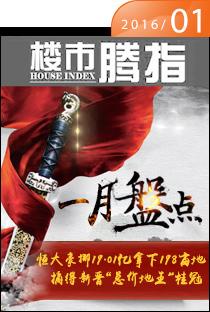 腾讯房产柳州站•楼市指数2016年1月