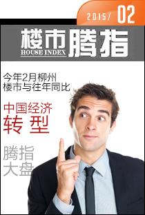 腾讯房产柳州站•楼市指数2015年2月