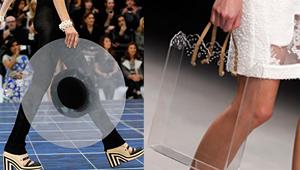 透明鞋包 重返美好时代