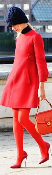 2012秋冬伦敦时装周首日街拍精选