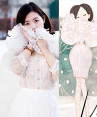 你爱的一切都可以穿在身上 复刻插画少女的STYLE - hbsphd - hbsphd的博客