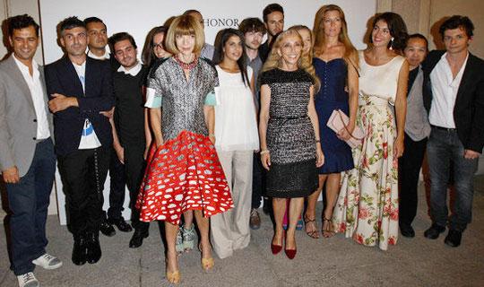 时尚名流齐聚Vogue设计师大赛
