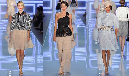 维密天使闪耀Dior秀场