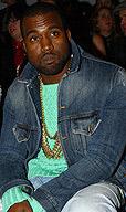 Kanye West亮相伦敦秀场