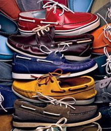 夏日一双帆船鞋
