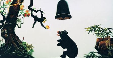 幼儿园自制乌龟皮影步骤图