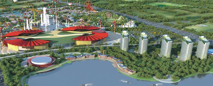 新泰市滨湖新区规划