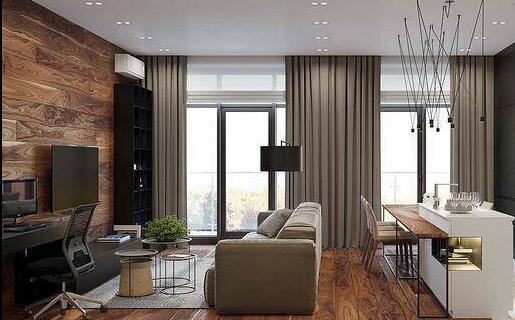 工业风单身公寓