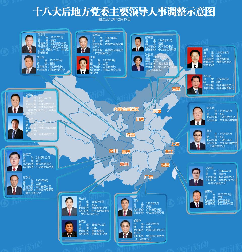 19届领导班子中央政治局常委集体亮相 习近平讲话全文