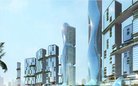 该双子塔将成为南宁市乃至广西区