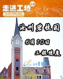 汝州碧桂园6月工程进度