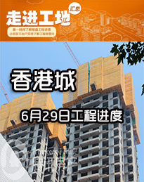 香港城6月28日工程进度
