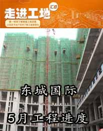 东城国际5月份工程进度