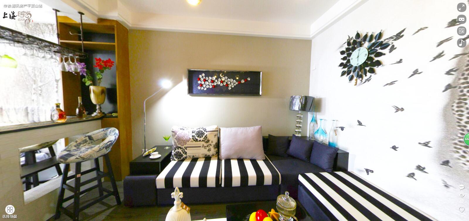 上海映象一室一厅一厨一卫,建筑面积约49.72�O