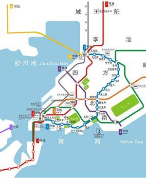 青岛地铁三号线车站信息表