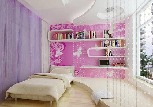 分享最新儿童房卧室装修效果图