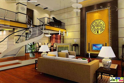 经典复式loft装修案例 最爱风格排名(组图)