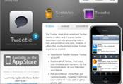 4月Twitter推出iPhone黑莓客户端