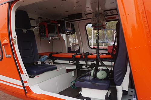 直升机救援内部设备