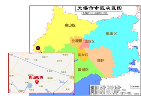阳山县风景区地图