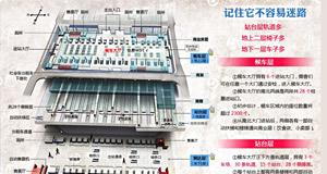 """一张图带你""""玩转""""杭州火车东站"""
