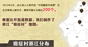 浙江癌症村地图