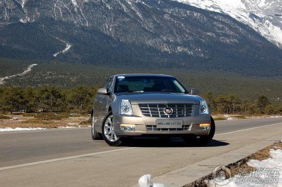 试驾豪华商务轿车凯迪拉克赛威2.0t sidi 高清图片