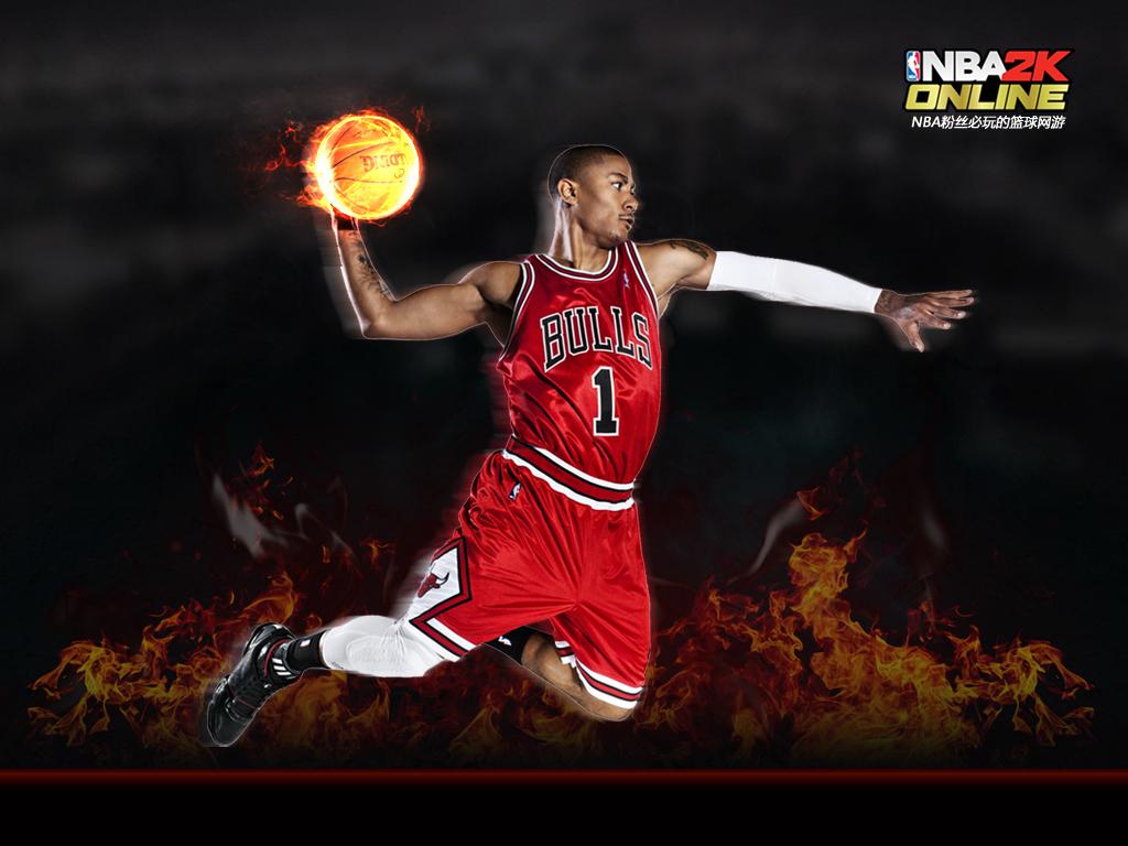 在线亚洲a级_《NBA2K Online》 罗斯精美壁纸下载_游戏_腾讯网