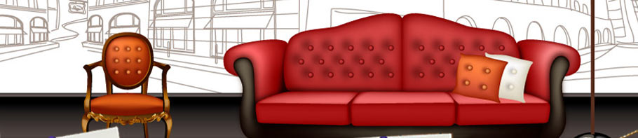 客厅沙发立面图cad